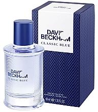 Voňavky, Parfémy, kozmetika David Beckham Classic Blue - Toaletná voda