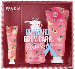Voňavky, Parfémy, kozmetika Sada - Frudia My Orchard Peach Body Care Gift Set (sh/gel/300ml + essence/200ml + h/cr/30g)