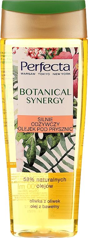 """Sprchový olej """"Olivový olej a bavlna"""" - Perfecta Botanical Synergy — Obrázky N1"""