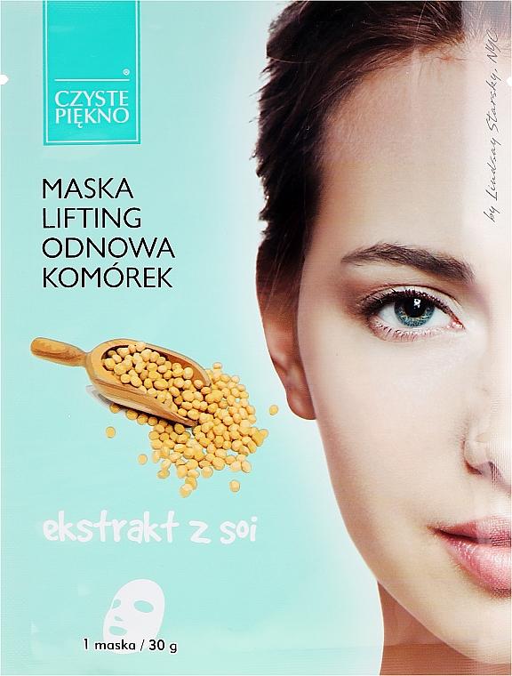 Maska na tvár so sójovým extraktom - Czyste Piekno Lifting Face Mask