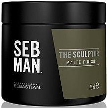 Voňavky, Parfémy, kozmetika Modelujúca mätová hlina na vlasy - Sebastian Professional SEB MAN The Sculptor
