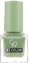 Voňavky, Parfémy, kozmetika Lak na nechty - Golden Rose Ice Color Nail Lacquer