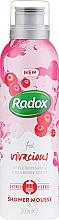 Voňavky, Parfémy, kozmetika Mušt do sprchy a na holenie - Radox Feel Vivacious Apple Blossom & Cranberry Shower Mousse