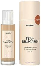Voňavky, Parfémy, kozmetika Hydratačný krém na tvár SPF 30 - Resibo Team Sunscreen Moisturizing Cream SPF 30