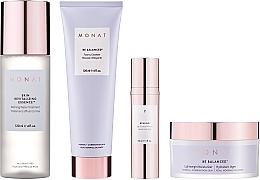 Voňavky, Parfémy, kozmetika Sada - Monat Be Balanced (cr/45ml + foam/120ml + ser/30ml + essence/120ml)