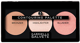 Voňavky, Parfémy, kozmetika Kontúrovacia paleta - Gabriella Salvete Contouring Palette