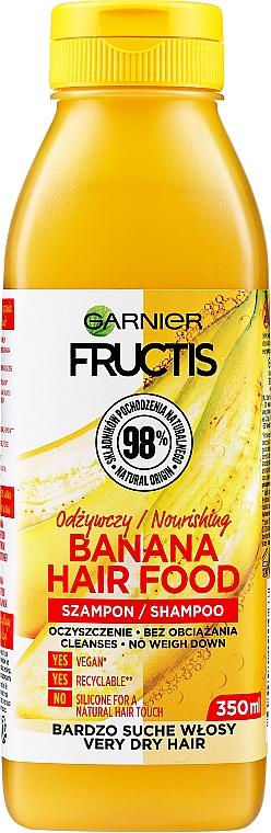 """Šampón """"Banán"""" pre výživu veľmi suchých vlasov - Garnier Fructis Superfood"""