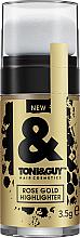 Voňavky, Parfémy, kozmetika Zvýrazňovač na vlasy - Toni&Guy Rose Gold Highlighter