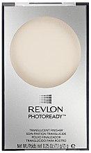 Voňavky, Parfémy, kozmetika Transparentný finišový púder na tvár - Revlon Photoready Translucent Finisher Face Powder