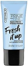 Voňavky, Parfémy, kozmetika Hydratačný primer - Catrice Prime And Fine Aqua Fresh Hydro Primer