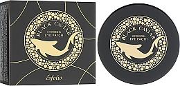 Voňavky, Parfémy, kozmetika Hydrogélové náplasti pod oči s čiernym kaviárom - Esfolio Black Caviar Hydrogel Eye Patch