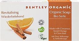 """Voňavky, Parfémy, kozmetika Mydlo """"Oživujúci"""" - Bentley Organic Body Care Revitalising Soap Bar"""