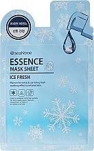 Voňavky, Parfémy, kozmetika Chladiaca látková maska na tvár - SeaNtree Ice Fresh Essence Mask Sheet