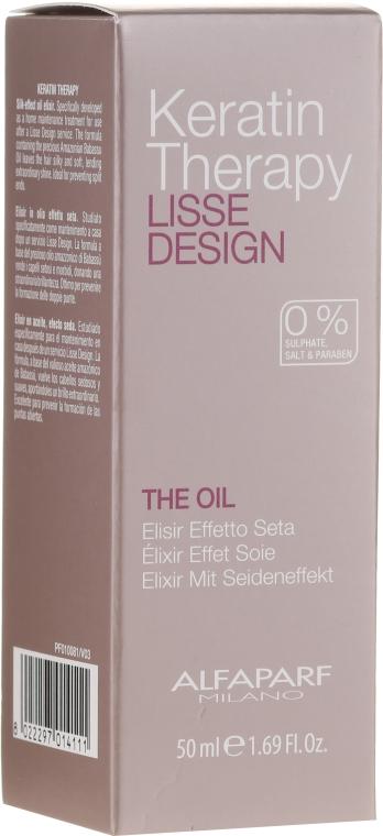 Keratínový olej na vlasy - Alfaparf Lisse Design Keratin Therapy Oil