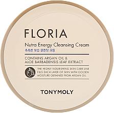 Voňavky, Parfémy, kozmetika Čistiaci krém - Tony Moly Floria Nutra-Energy Cleansing Cream