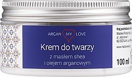Voňavky, Parfémy, kozmetika Výživný krém pre tvár - Argan My Love Nourishing Face Cream With Shea Butter And Argan Oil