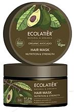 """Voňavky, Parfémy, kozmetika Maska na vlasy """"Výživa a sila"""" - Ecolatier Organic Avocado Hair Mask"""