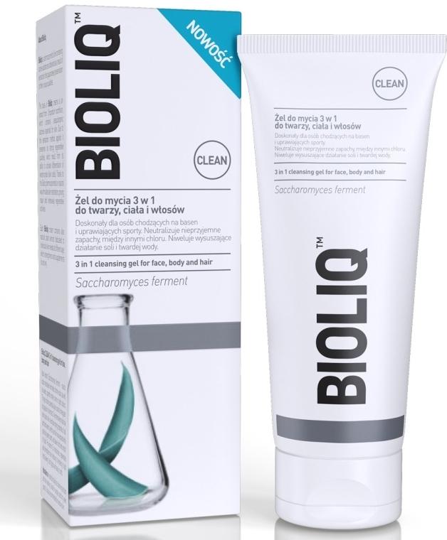 3 v 1 umývací gél na tvár, telo a vlasy - Bioliq Clean Cleansing Gel For Face Body And Hair