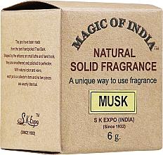 """Voňavky, Parfémy, kozmetika Prírodný parfumovaný krém """"Musk"""" - Shamasa"""