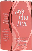 Voňavky, Parfémy, kozmetika Tekutý pigment na pery a líca - Benefit Chachatint (mini)