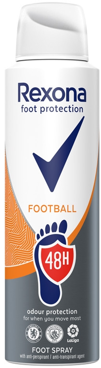 Sprej na nohy - Rexona Football Spray