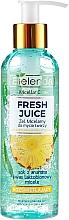 Voňavky, Parfémy, kozmetika Micelárny gél pre žiarivosť pokožky - Bielenda Fresh Juice Micellar Gel Pineapple