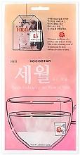 Voňavky, Parfémy, kozmetika Detoxikačná maska s ibištekom - Kocostar Petals Embracing The Flow Of Time