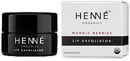 Voňavky, Parfémy, kozmetika Peeling na pery - Henne Organics Nordic Berries Lip Exfoliator