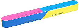 Voňavky, Parfémy, kozmetika 7-stranný nechtový buff 163x22x17mm - Tools For Beauty 7-way Nail Buffer Block