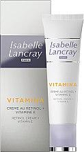 Voňavky, Parfémy, kozmetika Krém s retinolom a vitamínom E - Isabelle Lancray Retinol Cream Vitamin E