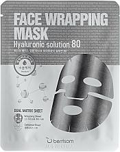 Voňavky, Parfémy, kozmetika Dvojvrstvová maska s kyselinou hyalurónovou - Berrisom Face Wrapping Mask Hyaluronic Solution