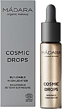 Voňavky, Parfémy, kozmetika Rozjasňovač - Madara Cosmetics Cosmic Drops Buildable Highlighter