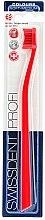 Voňavky, Parfémy, kozmetika Zubná kefka, stredne mäkká, červená - SWISSDENT Profi Colours Soft-Medium Toothbrush Red&Red