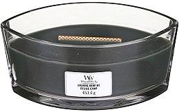 Voňavky, Parfémy, kozmetika Vonná sviečka v pohári - Woodwick Hearthwick Flame Ellipse Candle Evening Bonfire