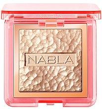 Voňavky, Parfémy, kozmetika Rozjasňovač na tvár - Nabla Skin Glazing Highlighter