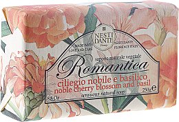 "Voňavky, Parfémy, kozmetika Mydlo ""Čerešňa a bazalkou"" - Nesti Dante Romantica Soap"