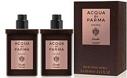 Voňavky, Parfémy, kozmetika Acqua di Parma Colonia Leather Eau de Cologne Travel Spray Refill - Kolínska voda