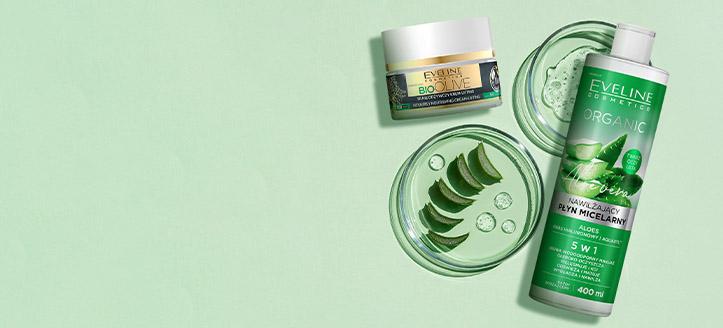 Zľava na kozmetiku na starostlivosť o tvár Eveline Cosmetics. Ceny na stránke sú uvedené so zľavou
