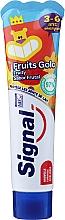 Voňavky, Parfémy, kozmetika Zubná pasta s ovocnou príchuťou, pre deti od 3 do 6 rokov - Signal Kids Fruit Flavor Toothpaste