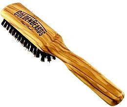 Voňavky, Parfémy, kozmetika Kefa na bradu, 20 cm - Golden Beards Beard Brush