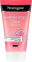 Voňavky, Parfémy, kozmetika Scrub na tvár s ružovým grapefruitom a vitamínom C. - Neutrogena Refreshingly Clear Daily Exfoliator