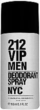 Voňavky, Parfémy, kozmetika Carolina Herrera 212 VIP Men - Deodorant