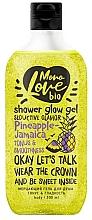 """Voňavky, Parfémy, kozmetika Trblietavý sprchový gél """"Tonus a hladkosť"""" - MonoLove Bio Pineapple-Jamaica Tonus&Smoothness"""