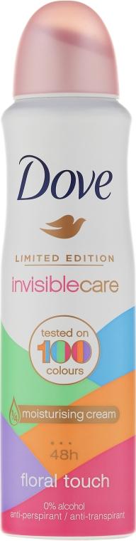 Antiperspiračný dezodorant - Dove Invisible Care Floral Touch Antiperspirant Limited Edition