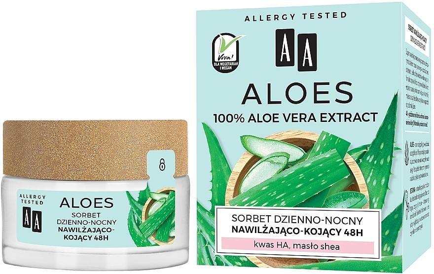 Hydratačný a upokojujúci sorbet - AA Aloes Sorbet