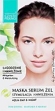 Voňavky, Parfémy, kozmetika Maska a sérum na tvár s aloe - Czyste Piekno Face Mask Serum Gel