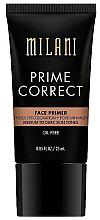 Voňavky, Parfémy, kozmetika Korekčný primer - Milani Prime Correct Diffuses Discoloration + Pore-minimizing Face Primer Medium/Dark