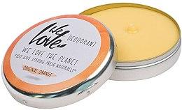 """Voňavky, Parfémy, kozmetika Prírodný krém deodorant """"Original Orange"""" - We Love The Planet Deodorant Original Orange"""