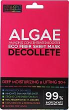Voňavky, Parfémy, kozmetika Expresná maska pre oblasť dekoltu - Beauty Face IST Deep Moisturizing & Lifting Decolette Mask Algae