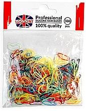 Voňavky, Parfémy, kozmetika Silikónové gumy, viacfarebné - Ronney Professional Silicone Hair Bands
